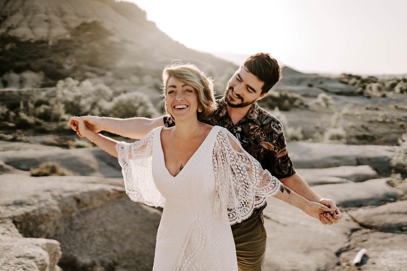 mariage espagne bardenas festival you and me elopement photographe bel esprit desert 0026