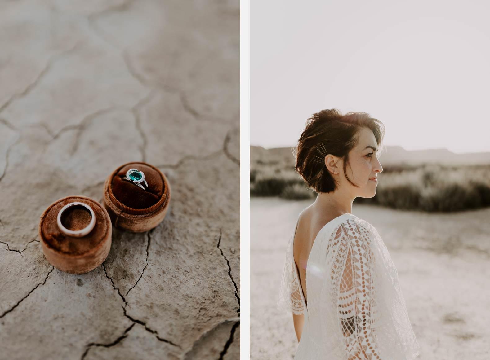 mariage espagne bardenas festival you and me elopement photographe bel esprit desert 0029