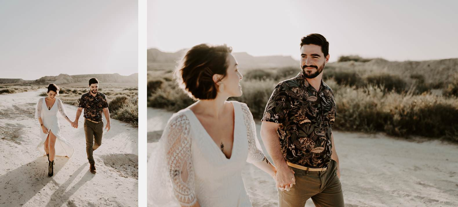 mariage espagne bardenas festival you and me elopement photographe bel esprit desert 0031