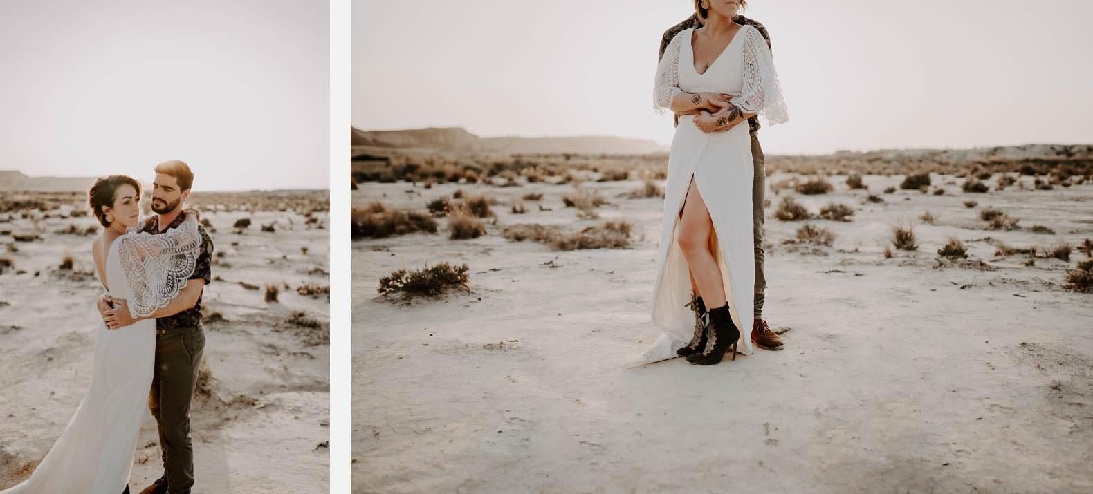 mariage espagne bardenas festival you and me elopement photographe bel esprit desert 0037