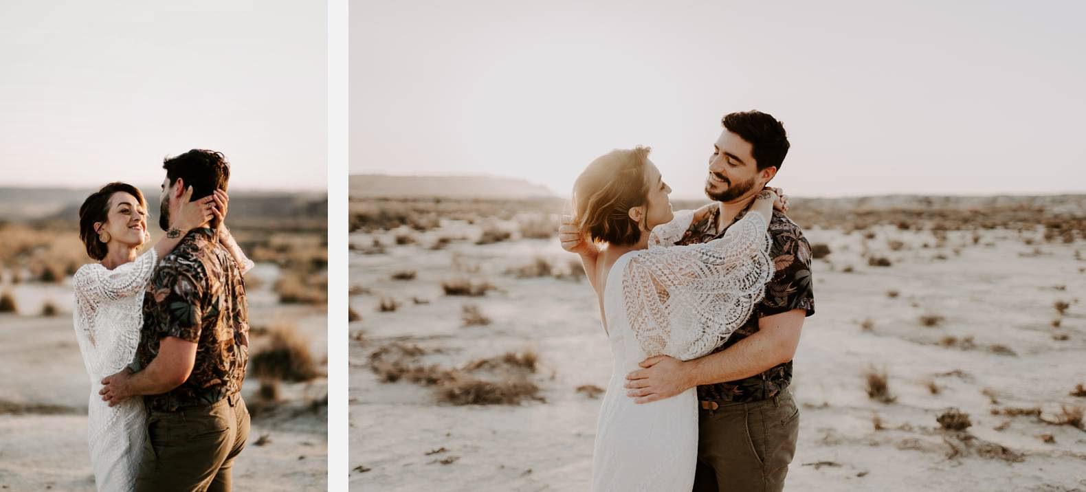 mariage espagne bardenas festival you and me elopement photographe bel esprit desert 0038