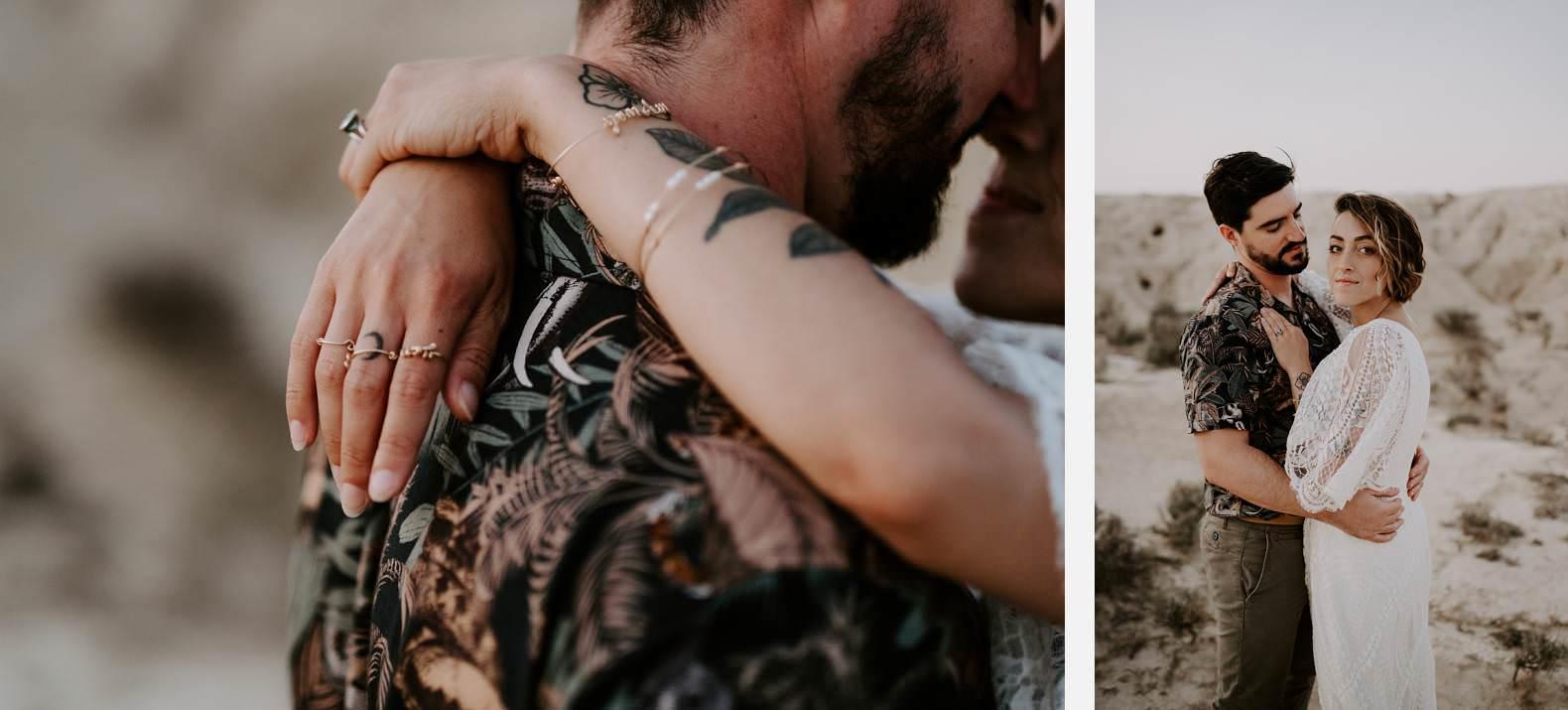 mariage espagne bardenas festival you and me elopement photographe bel esprit desert 0053