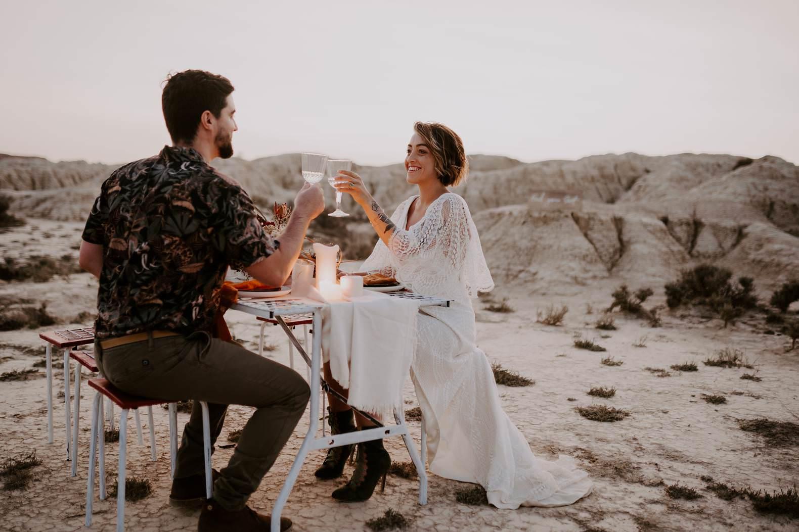 mariage espagne bardenas festival you and me elopement photographe bel esprit desert 0056