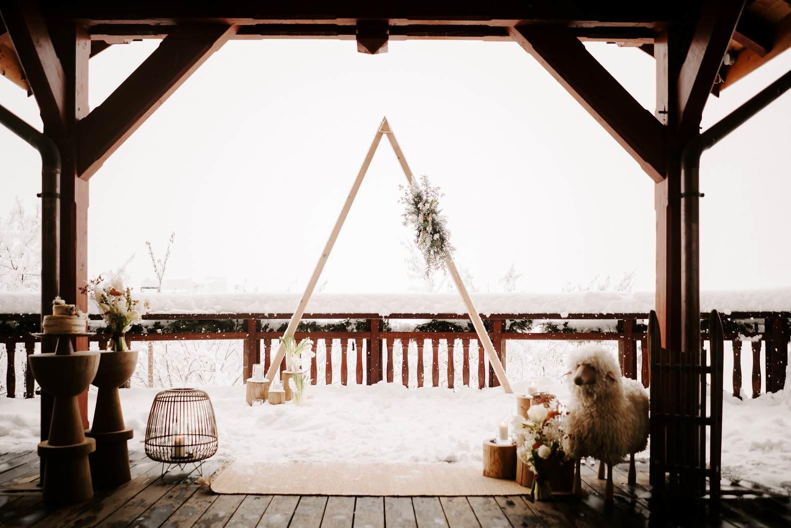 mariage hiver alpes huez isere hotel grandes rousses photographe bel esprit 0021
