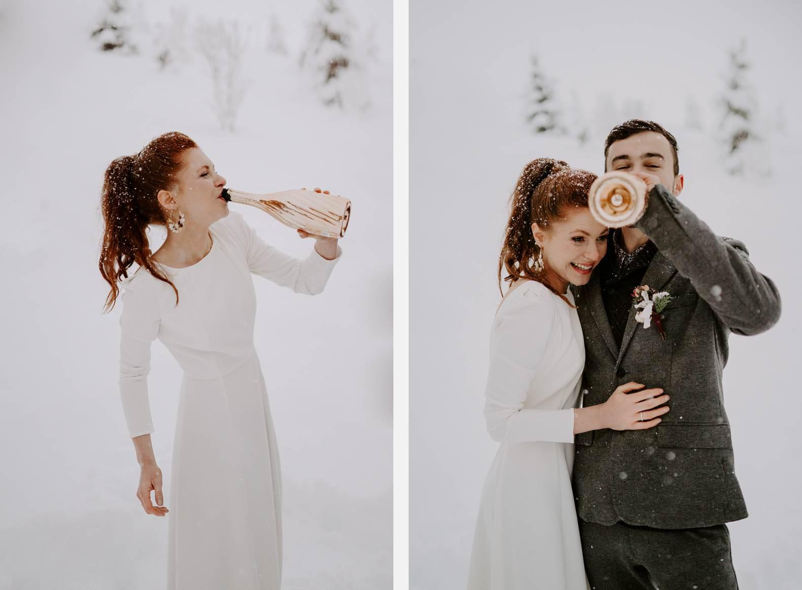 mariage hiver alpes huez isere hotel grandes rousses photographe bel esprit 0034