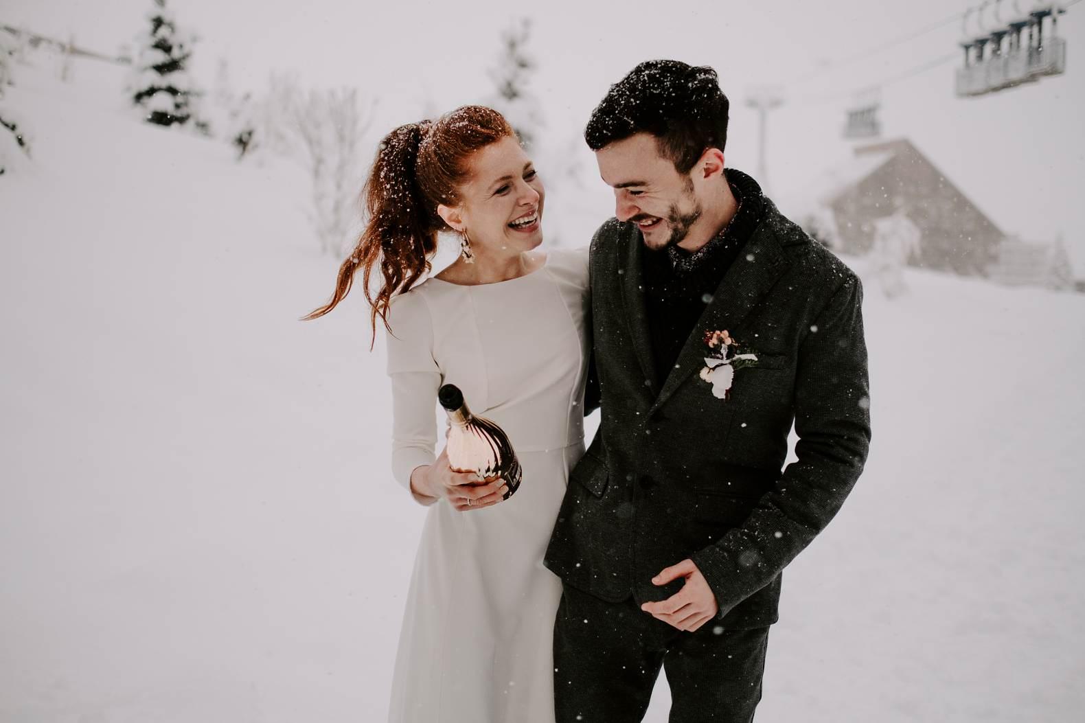 mariage hiver alpes huez isere hotel grandes rousses photographe bel esprit 0035
