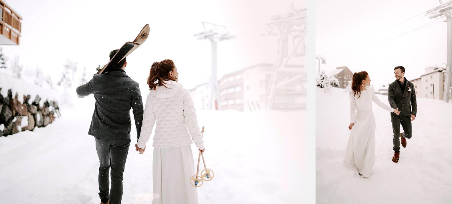 mariage hiver alpes huez isere hotel grandes rousses photographe bel esprit 0037